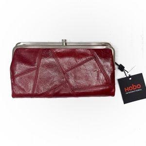 Hobo Lauren Limited Edition Red Wallet Clutch
